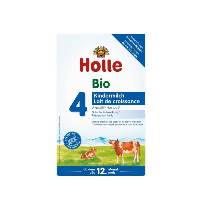 Holle Organic Growing-up Milk 4  - 6 Boxes